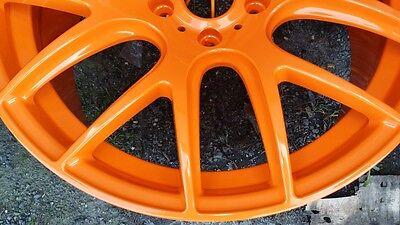 Higloss Orange Powder Coating Paint 1lb0.45kg