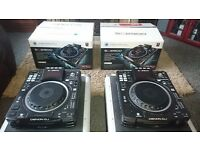 2 x Denon sc2900 CD/USB/Midi players & Denon Dn-x1600 4-channel digital mixer with flight-cases etc.