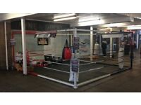Boxing floor ring 16ft