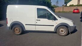 Ford TRANSIT CONNECT 03 plate