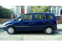 2005 vauxha zafira 1.6 (7 seater) 2 owners . family owned from new .