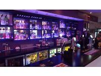 Weekend Bar Staff Required