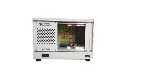 National Instruments NI PXI-1002 745749-01 NI CompactPCI PXI 4-Slot Chassis