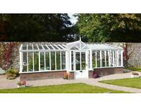 New Victorian lean-to green house