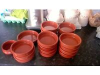 Red Tapas Dishes