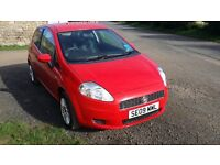 FIAT PUNTO GRANDE 2009 ,LOW MILEAGE, VERY GOOD CONDITION