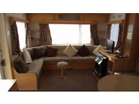 Static caravan/holiday home for sale in Porthcawl Trecco bay holiday park.