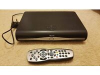 SKY+ HD BOX WITH REMOTE AND WIRELESS WIFI CONNECTOR - PERFECT CONDITION