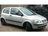 Hyundai getz gsi 1.1 ltr with good tyres