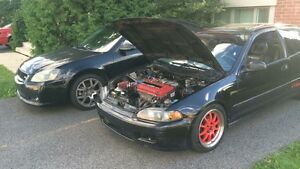 Civic eg hatch b18c jdm type r spec r