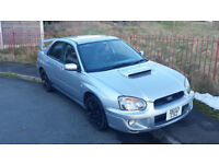 Subaru impreza wrx 2.0 Turbo 2003 £2750 no offers