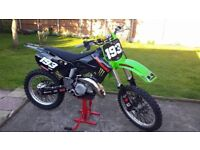 Kawasaki KX 125 (mint condition, recent top end rebuild)