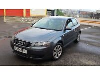 2004 REG AUDI A3 FSI 2.0 PETROL 6 SPEED MANUAL