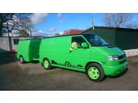 VW T4 swb with T4 trailer