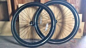 700c Single Speed/Fixed Gear Wheelsets w/ flip flop hub