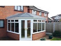 Tiled warm conservatory roof replacements