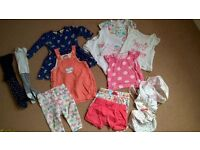 6-9 months BABY GIRL SUMMER bundle of clothes