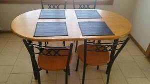 Dining table and chairs McLaren Flat Morphett Vale Area Preview