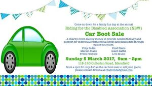 Car Boot Sale Marsfield Ryde Area Preview