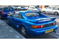 Toyota MR2 1992 2.0GT Zircon Blue LOW MILEAGE