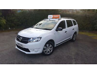Dacia Logan Estate 2013 ( 63 Plate ) WHITE, 1.2 16 Valve, REDUCED TO ONLY £3995