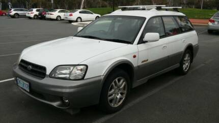2001 Subaru Outback Wagon [manual City North Canberra Preview