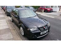 MG ZS 180 Black with body kit