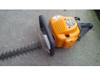 petrol mcculloch hedge trimmer