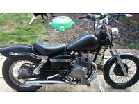 Honda rebel ca125, 1995 breaking for spares / job lot (cat B). fork damage but everything else sound