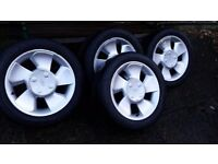 Ford Puma fan blade alloys wheels with AVON tyres