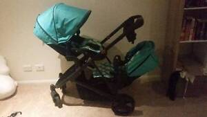Double/twin Pram stroller - bertini envy Pelican Waters Caloundra Area Preview