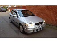 2002 02 Vauxhall Astra 1.7 td turbo diesel 30 a year road tax long mot
