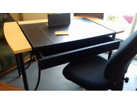 Desk with Drawer & Swivel Office Chair.. ......Local Delivery... £39 For Both....