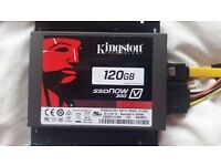 """BRAND NEW KINGSTON 120GB SSD with 3.5"""" Internal PC Mount"""