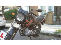 2012 Yamaha YBR 125 Excellent Condition. Heated grips. *Free* heavy duty chain lock.