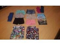 Bundle of girls summer clothing suitable age 9 & 10