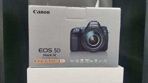 CANON EOS 5D Mark IV WITH 24-105MM Lens KIT Brand New In Box