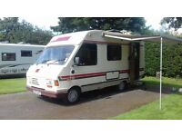 PILOTE CAMPERVAN / MOTORHOME 5 BIRTH EXCELLENT CONDTION
