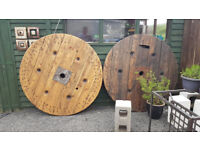 Large Cable Reel Table tops 1400x80 Lighter colour SOLD