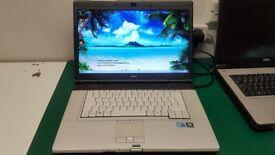 fast intel core i5 fujitsu laptop