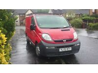 Vauxhall VIVARO 1.9 DTi 2003 MOT till march SWB 6 speed 3 x seater 163k swap