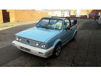 1989 Mk 1 Vw Karmin Cabriolet Golf Full mot
