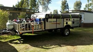 Camper trailer caravan toy hauler trailer may swap Bendigo Bendigo City Preview