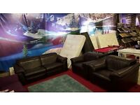 ex display natuzzi sensor recliner 3 piece suite