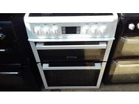 LEISURE 60 CM ELECTRIC DOUBLE OVEN COOKER CERAMIC TOP