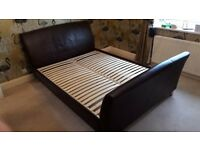 Sleigh bed King Size Marks and Spencer