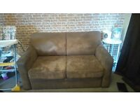 2 x 2 seater sofas for sale 1 is a bed settee