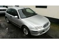 52 plate rover 25, 1.4 petrol drives perfect no faults comes with all paper work mot till october