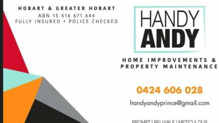 Handy Andy Home Improvements & Property Maintenance Kingston Kingborough Area Preview