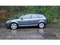 Audi A3 sport back full leather SWAP OR OFFER